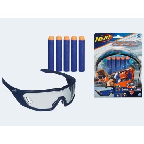 Image of   NERF N Strike Elite Vision Gear + 5 Darts