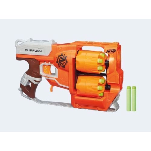 Image of NERF - Zombie Strike Flip Fury (A9603) /Outdoor Toys