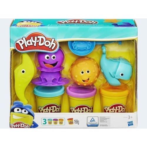 Image of PlayDoh modellervoks undervands tilbehør