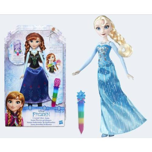 Image of   Disney, Frozen/Frost - dukke Anna eller Elsa