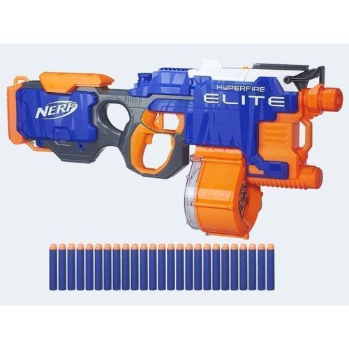 Image of   Nerf N_Strike Elite Hyperfire Blaster