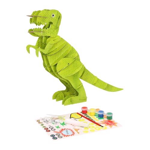 Image of   3D byggesæt dinosaur