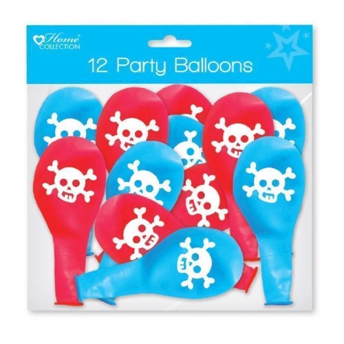 Pirat balonner 12 stk