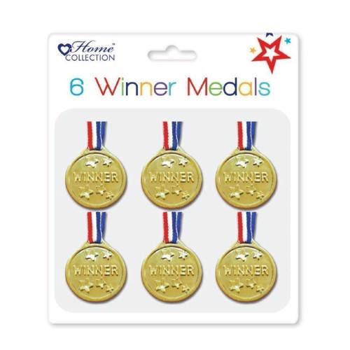 Image of Medaljer 6 stk (5012128478741)