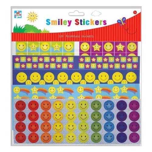 Image of   Klistermærker Smiley, 300 stk