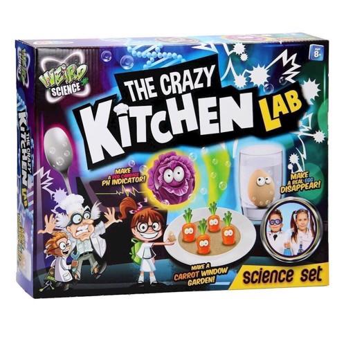 Image of Weird Science kaos køkken laboratorie