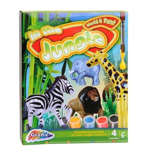 Image of   Gibs sæt med vilde dyr