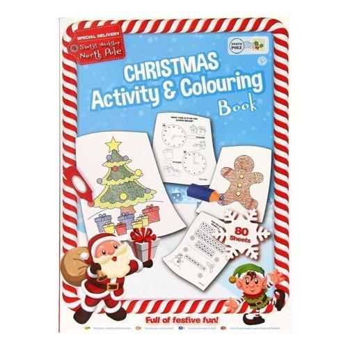 Image of   Jule aktivitets og malebog