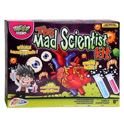 Image of   Mad Science, den tossede videnskabsmand