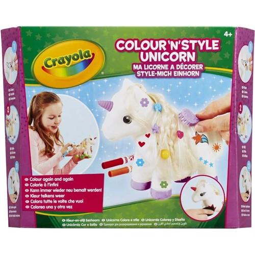 Image of Crayola Mal og styling enhjørning (5025123930206)
