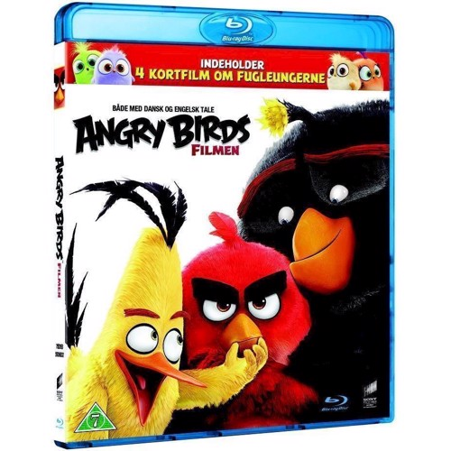 Image of Angry Birds The Movie - Filmen (Blu-Ray) (5051159368379)