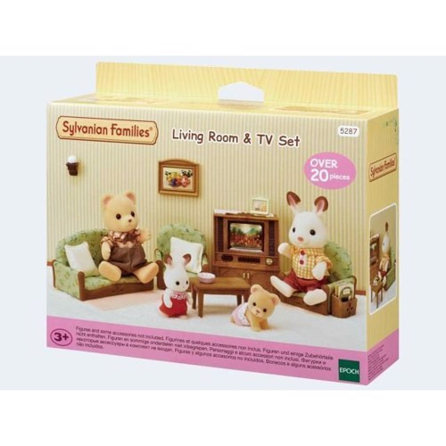 Image of Sylvanian Families, Stue med TV (5054131052877)