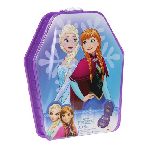 Image of   Disney Frozen kasse med tegneting