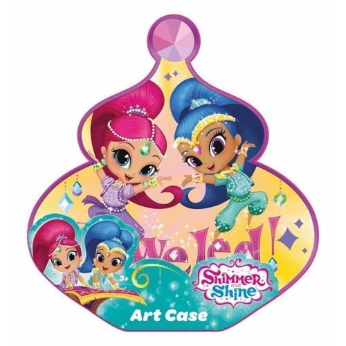 Image of Shimmer & Shine kreativt tegnesæt, 33 dele (5055114351697)