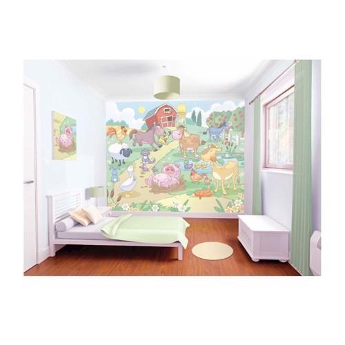 Image of   Walltastic Poster Wallpaper/wallsticker Baby Farm