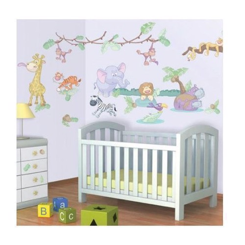 Image of   Walltastic Wall sticker Baby Jungle