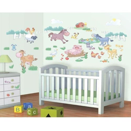 Image of   Walltastic Wall stickers Baby Farm