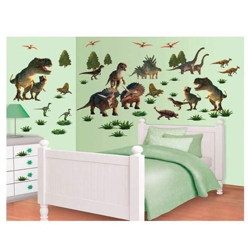 Image of   Walltastic Wall stickers Dinosaurs