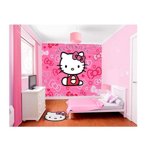 Image of   Walltastic Wallpaper Hello Kitty Poster