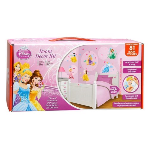 Image of   Disney Princess Walltastic Wall stickers