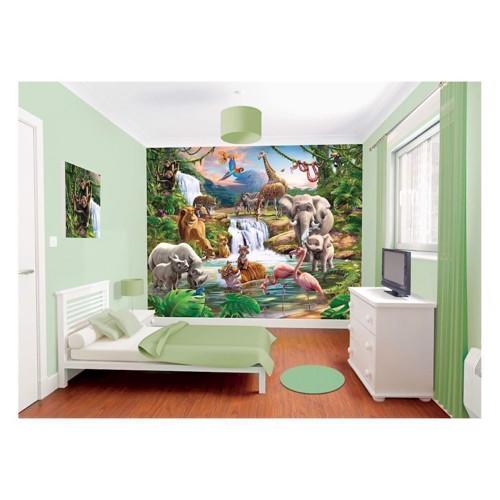 Image of   Walltastic Wallpaper Jungle Poster