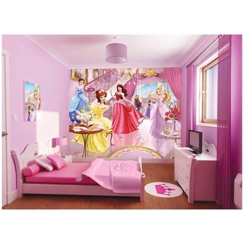 Image of Walltastic Wallpaper Princesses Plakat