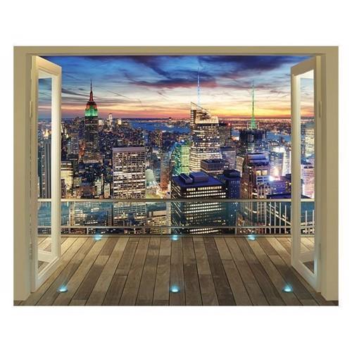 Image of   Walltastic NYC Skyline XXL, wallsticker