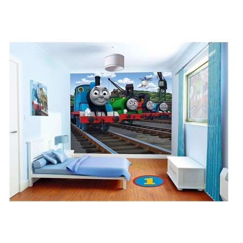 Image of   Walltastic Mural Poster Thomas the Train