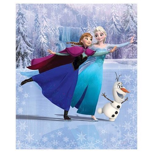 Image of   Walltastic Poster Wallpaper Disney Frozen XL