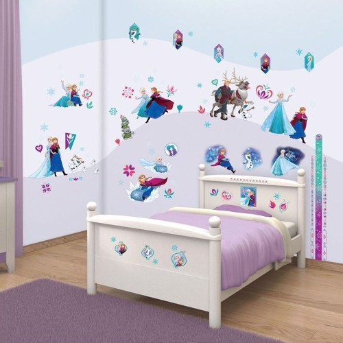 Image of   Disney, Frozen/Frost - Walltastic Wall stickers