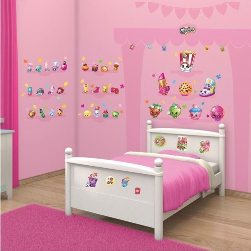 Image of Walltastic Wall stickers Shopkins (5060107044227)