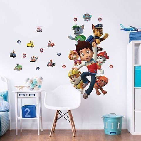Image of   Paw Patrol Walltastic Wall Sticker XXL