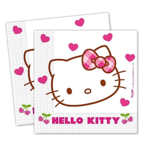Image of   Hello Kitty napkins, 20pcs.