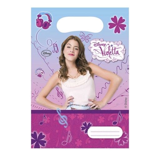 Violetta Portion pouches, 6pcs.
