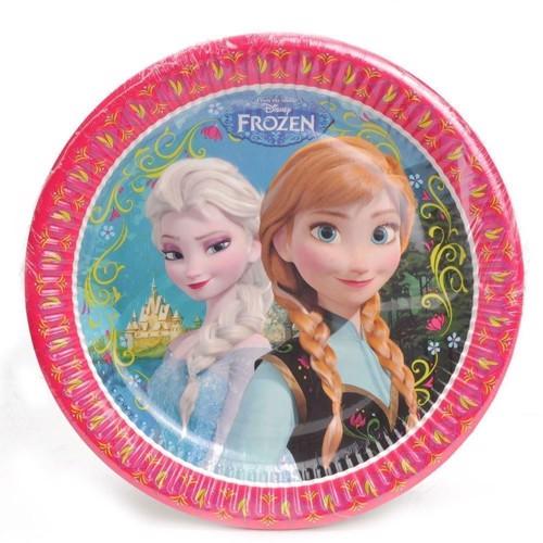 Image of Disney, Frozen/Frost - Tallerkener, 8 stk