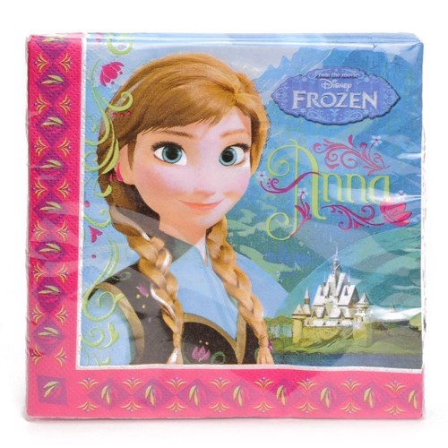 Image of   Disney, Frozen/Frost - Servietter, 20 stk.