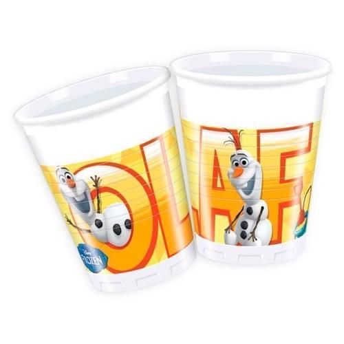Image of   Disney, Frozen/Frost - Olaf Krus, 8 stk
