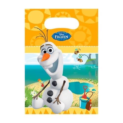 Image of   Disney, Frozen/Frost - Olaf Slikposer, 6 stk