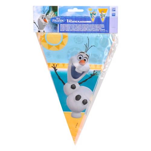 Image of   Disney, Frozen/Frost - Olaf Flagline