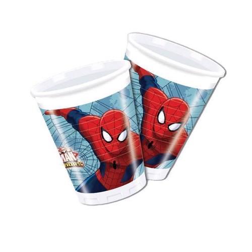 Image of Spiderman krus 8 stk