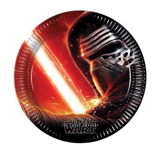 Star Wars Pap Tallerkener, 8 stk