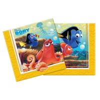 Finding Dory napkins, 20pcs.