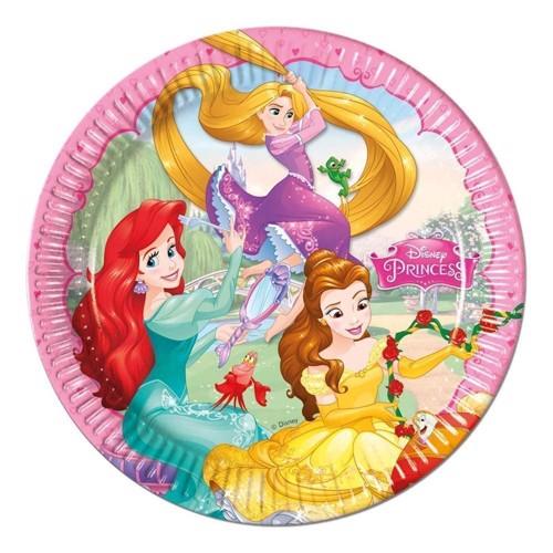 Image of   Disney Princess plates, 8pcs.