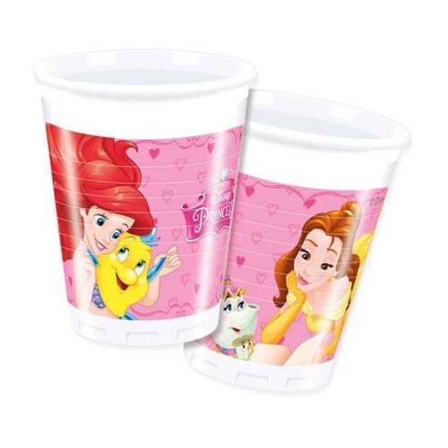 Image of Disney Princess engangskrus 8 stk (5201184866788)
