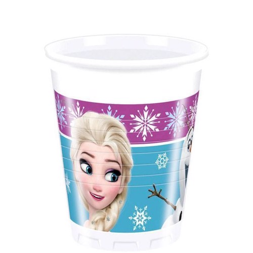 Image of   Disney, Frozen/Frost - Krus, 8 stk