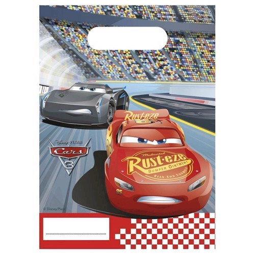 Image of   Cars 3, Slikposer, 6 stk