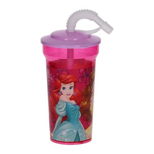 Image of   Disney Princess kop med sugerør