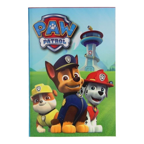 Image of   Paw Patrol Notesblok