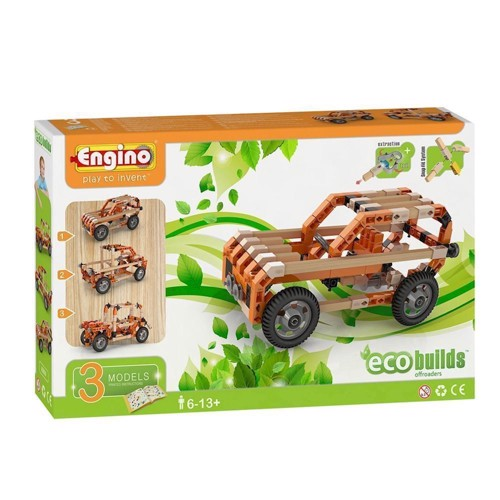 Image of Engino Eco Offroaders, 3 i 1 (5291664001006)
