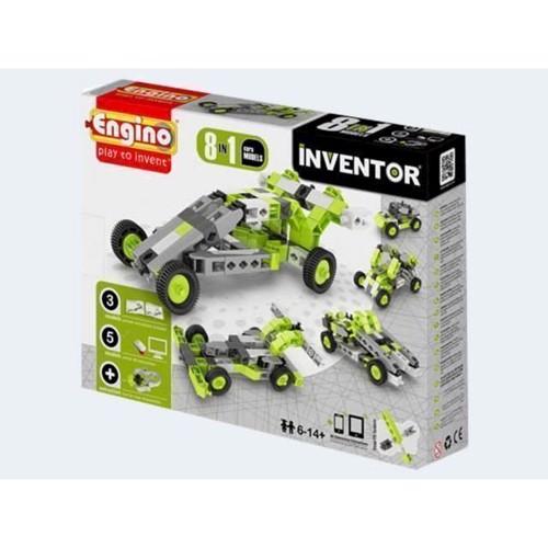 Image of Engino Inventor, 8i1 biler (5291664001167)